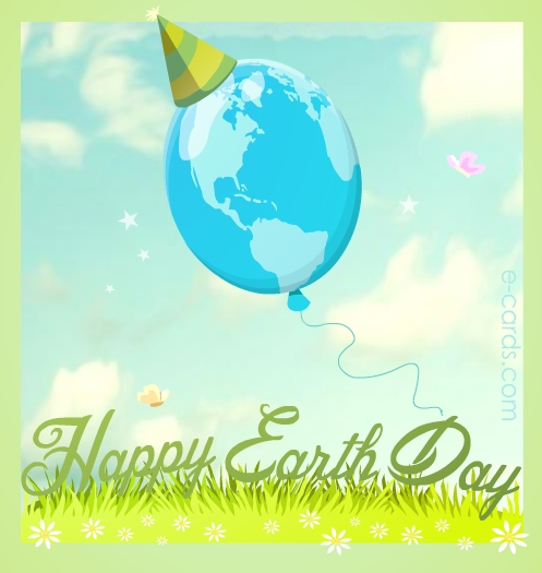 Earth Day Balloon