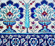 Blue Mosque Tiles - Istanbul