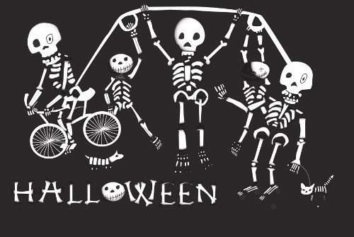 Skeleton Play Date -  (6119891785)