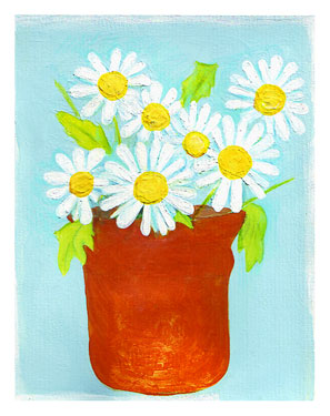 Daisies In Pot - Gordana Jovanovic (1609645921)