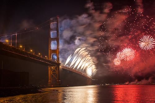 Golden Gate Bridge 75th Anniversary - Robb Waterman (5619832112)